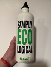 "SIGG Simply Ecological Water Bottle ""You Are What You Drink...Don't Be Plastic"""