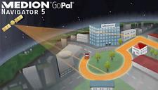 Medion GoPal Navigator 5  Europa  TMC + Q2/2009 Neu