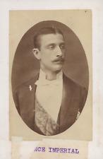 Le Prince impérial Louis-Napoléon Vintage albumen print Tirage albumin