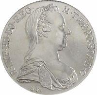 MARIA THERESIEN TALER – Österreich 1 Taler 1780 Silber unzirkuliert