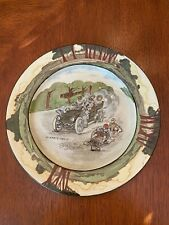 "Royal Doulton Early Motoring ""A Nerve Tonic"" Rack Plate c.1906"