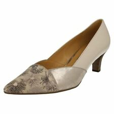 Gabor Leather Court Casual Heels for Women