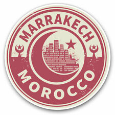 2 x Vinyl Stickers 30cm - Morocco Marrakech Travel Cool Gift #7447