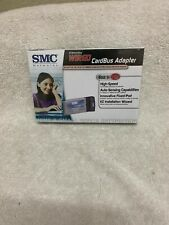 Lot of 10 SMC Networks EZ Card 10/100 Mbps Cardbus Adapter PCMCIA SMC8036TX