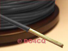 Teflonlitze PTFE 0,61 mm² AWG 20 ( 19 x 0,2mm  ) schwarz - Meterware