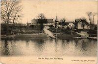 CPA   L'Ile La Loge, prés Port-Marly     (246535)