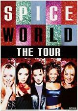 Spice Girls Spice World Tour 1998 Poster 23x33