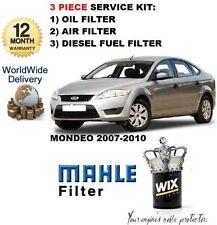 Para Ford Mondeo 2.0 Tdci 6/2007 -3 / 2010 Kit De Servicio Aceite Aire Filtro De Combustible Kit