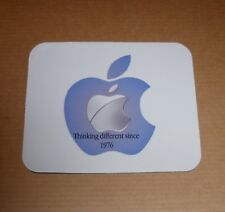 Apple Logo Thinking Differently Mouse Pad - Mousepad