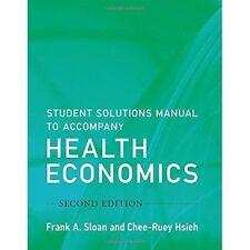 Manual del estudiante de soluciones para acompañar economía sanitaria por Hsieh, Chee-Ruey, sloa