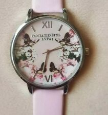 Brand New Pink Floral  Watch