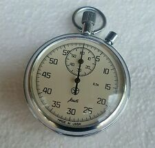VINTAGE Stopwatch AGAT Made in USSR  Mechanical Секундомер RARE