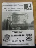 02/05/2011 Kent Senior Cup Final: Dartford v Bromley  . Thanks for viewing this