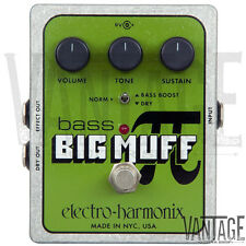 Electro-Harmonix Bass Big Muff Pi Distortion