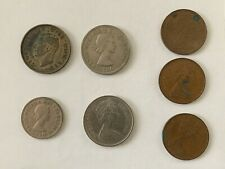 Uk Great Britain 1938 George Vi Silver Coin Two Shillings Florin + Other Coins