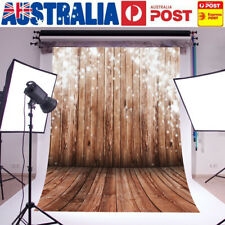 AU 5x7FT Starlight Wood Wall Floor Backdrop Background Photography Photo