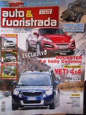 Auto & Fuoristrada n°12 2009 1 2010 Kia Sorento Mazda CX-7 Diesel Toyota Fo[P39]