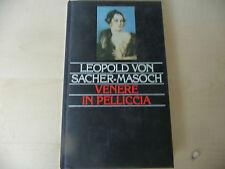 "VENERE IN PELLICCIA""VON MASOCH-libro CARTONATO EROTICO con tavole  Ed ES 1993-A3"