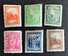 Latvia, Latvija, Sc 174-179; Mi 232-237 MNH/**