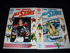 LOT OF 9 DC COMICS THE YOUNG ALL-STARS 1-9 FULL RUN