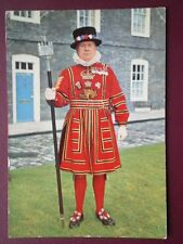 POSTCARD CHIEF YEOMAN WARDER - TOWER OF LONDON