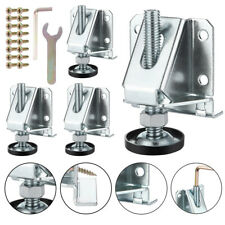 Adjustable Furniture Leg Leveler Heavy Duty Cabinet Leveling Feet Lock Nut M10