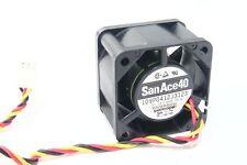 Sanyo San ace40 109p0412j3123 12v 0.35a DC Fan 40x40x28 mm sistema cooling ventiladores