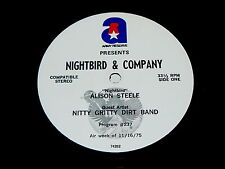 NITTY GRITTY DIRT BAND &  JAMES GANG : Nightbird &  Co RADIO SHOW '75 Interview