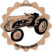 Ford Tractor  Wood Ornament Engraved