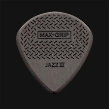 More details for dunlop max grip jazz iii guitar picks carbon fibre - 1 2 3 4 5 6 10 12 20 24 36