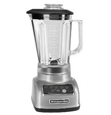 KitchenAid Rksb1570cu 5-Speed Blender Crush Ice Diamond Pitcher Contour Silver