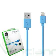 Cavo Lightning USB 1,2m originale Belkin AZZURRO per iPhone SE 6 6S Plus 5C 5S 5