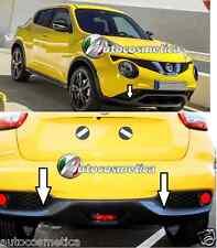 per Nissan Juke 2014 cover cornici paraurti anteriore+posteriore colore carbonio