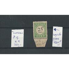 Curacao P17 POSTFRIS met weggevallen kleur  CV 250 €
