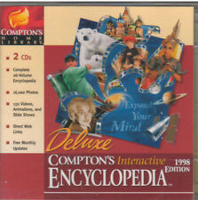 COMPTONS INTERACTIVE ENCYCLOPEDIA 1998 EDITION (PC, 1998)