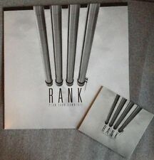 RANK plan your downfall 2015 french Post punk Wire Cure Joy Division LP + CD ►♬