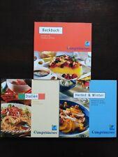 3 x Weight Watchers Points Plus: Backbuch + Italien+ Herbst & Winter
