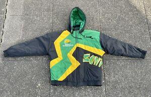 VTG 90s Seattle SuperSonics Apex One Heavyweight Jacket M NBA Sonics Starter