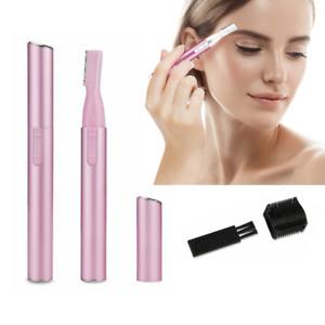 Electric Eyebrow Shaver Razor Trimmer Face Hair Remover Lady Bikini Legs Shaper