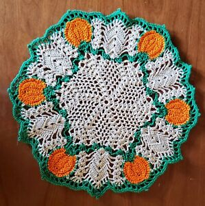 Pumpkin Patch Hand Crochet Doily - **NEW** - Lone Star Lace