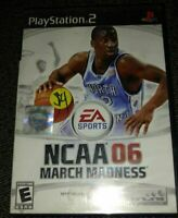 NCAA 06 MARCH MADNESS - PS2 - COMPLETE WITH MANUAL - FREE S/H (E)