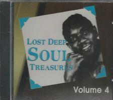LOST DEEP SOUL TREASURES - CD - Volume 4 - BRAND NEW