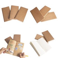 Journal Refills Lined & Blank Paper 3 Pack Inserts For Travel Notebook Diary Not