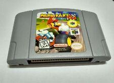 Mario Kart 64 Nintendo N64 Game Cartridge card
