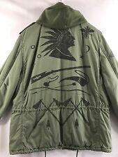 Denim & Supply Ralph Lauren Indian Chief Military Parka Expedition Coat Men's XL