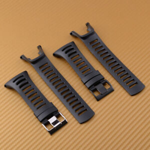 Rubber Watch Band Sport Wristband Strap Fit For SUUNTO Ambit 3 PEAK/Ambit 2/1 ut
