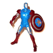 """Marvel Legends Iron Man Capitaine America Armour Variant 6"""" Toy Figure VERY RARE"""