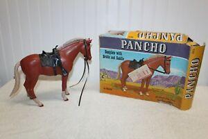Vintage Marx - Johnny West Series - Pancho Pony w/ Box (rough box)