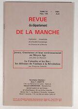 REVUE DE LA MANCHE JERSEY GUERNESEY COTENTIN LES ÎLES LES DEFENSES DE VAUBAN
