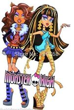 MONSTER HIGH CLAWDEEN WOLF CLEO NIL WALL ROOM DECOR DECAL STICKER BIRTHDAY GIFT